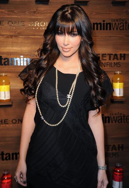 2367add6e7dbb6 CELEBRITIES IN PEARLS: Kim Kardashian Wears a Chanel Pearl Necklace  (#flashback)