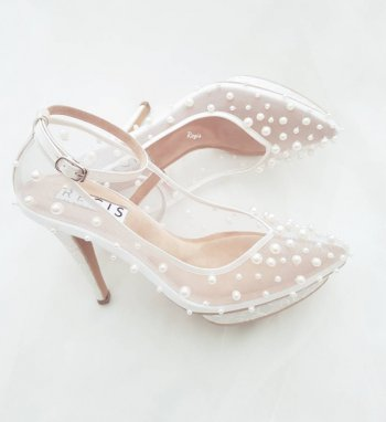 Beautiful Pearl Wedding Shoes   7 Tips On How To Pick The Perfect Pair