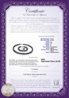 product certificate: FW-B-A-89-S-Kaitlyn