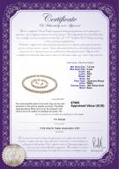 product certificate: W-AA-758-S-Akoy