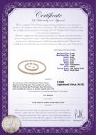 product certificate: W-AAA-67-S