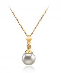 7-8mm AA Quality Japanese Akoya Cultured Pearl Set in Georgia White