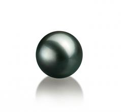 10-10.5mm AAA Quality Tahitian Loose Pearl in Black