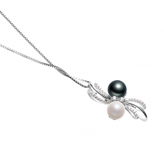 6-7mm AAAA Quality Freshwater Cultured Pearl Pendant in Davina Multicolour