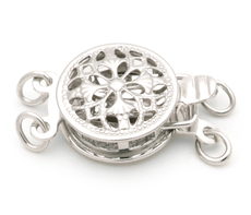PearlsOnly Clasps: Sussex - 14k White Gold