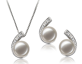 Bridal Pearl Necklace Set