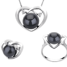 Black Freshwater Pearl Sets