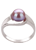 Lavender Color Pearl Rings