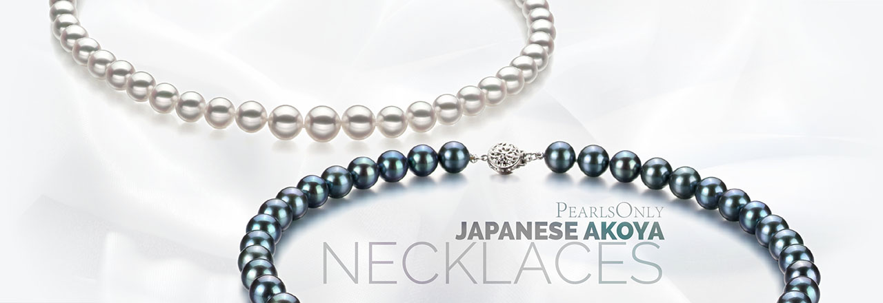 PearlsOnly Japanese Akoya Necklace