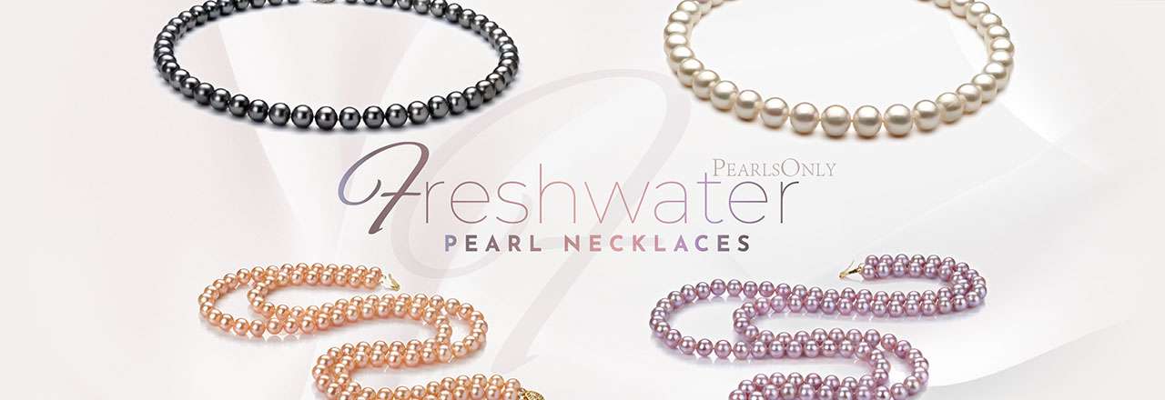 PearlsOnly Freshwater Pearl Necklace