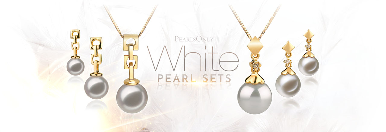 Landing banner for White Pearl Sets