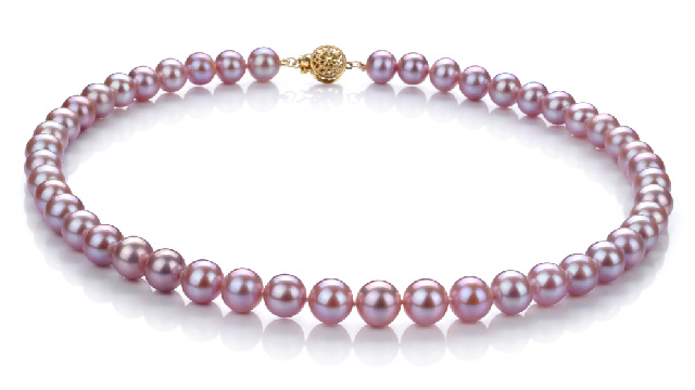 View Lavender Freshwater Pearl Necklace collection