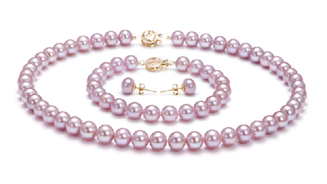 View Lavender Freshwater Pearl Set collection