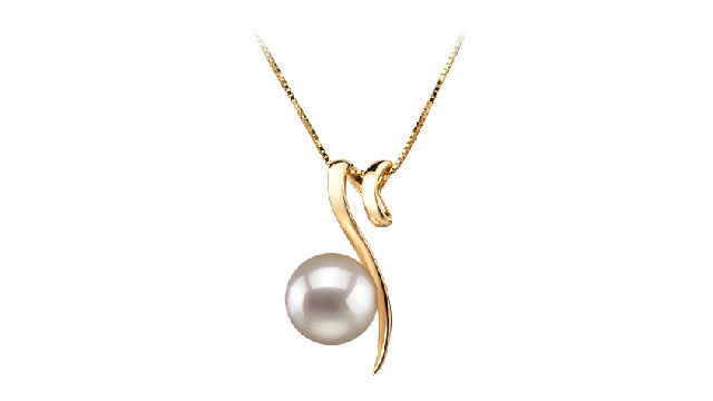 View White Japanese Akoya Pearl Pendants collection
