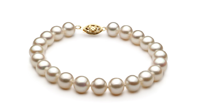 View White Freshwater Pearl Bracelet collection