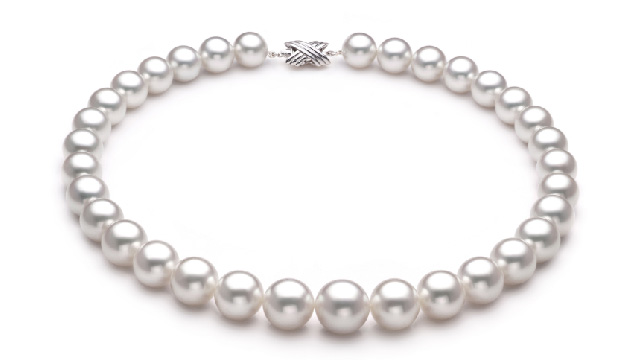 View White South Sea Pearl Necklace collection